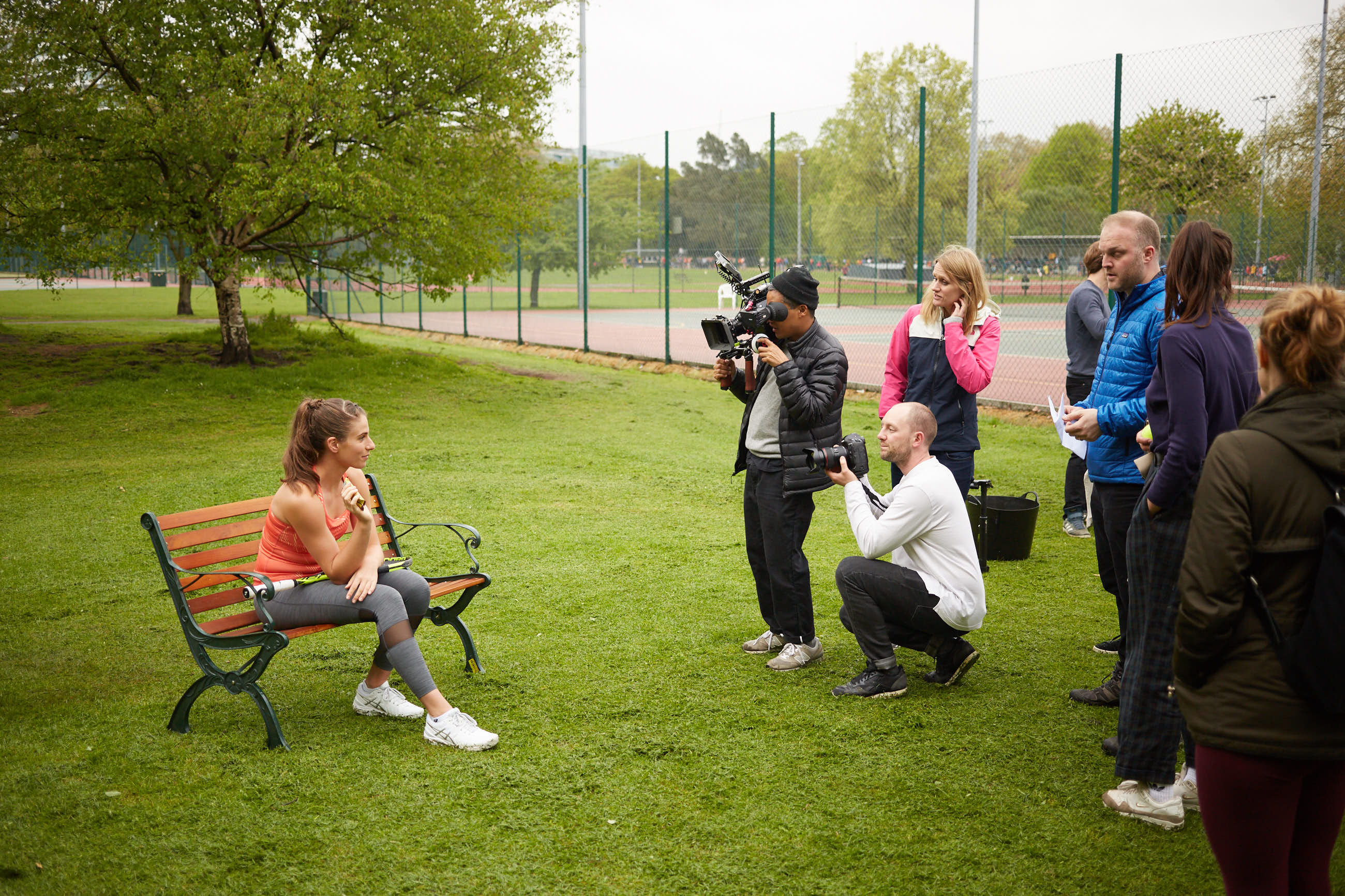 stills and video lifestyle sport campaign