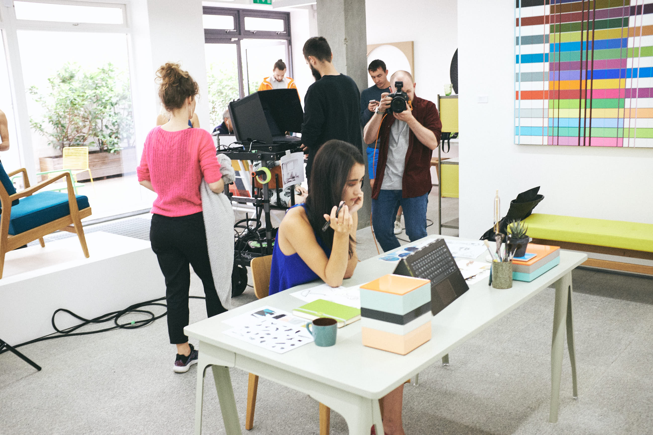 behind the scenes lifestyle campaign